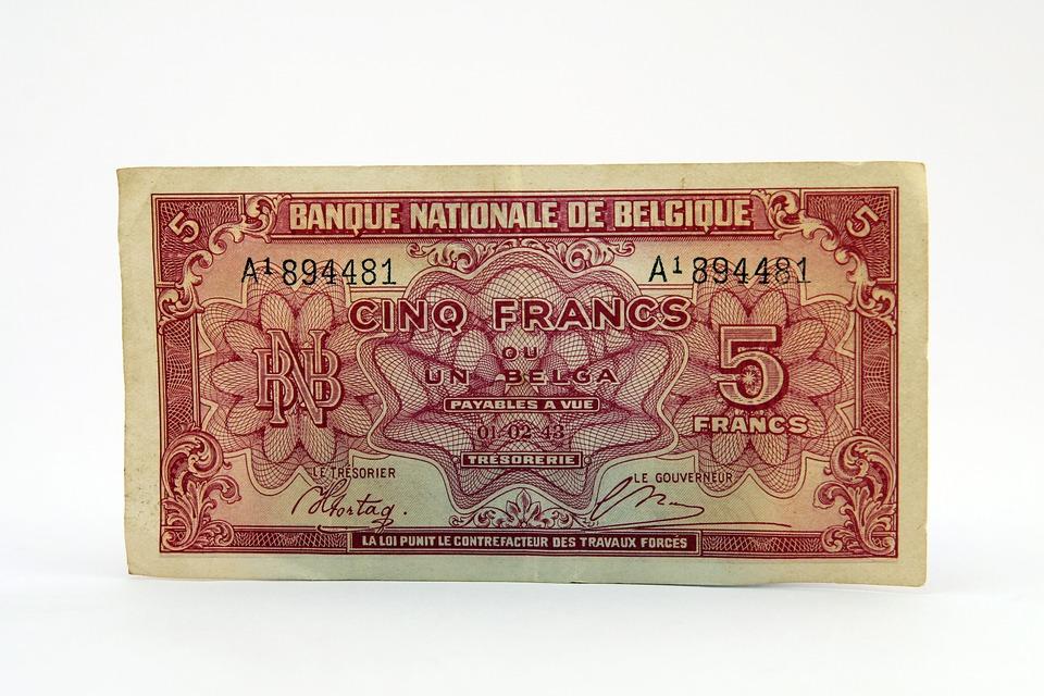 pět franků