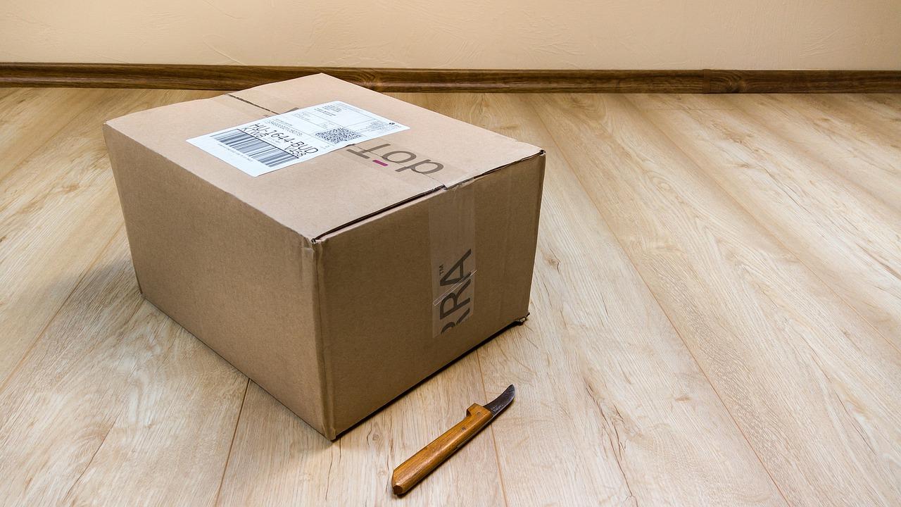 zabalená krabice